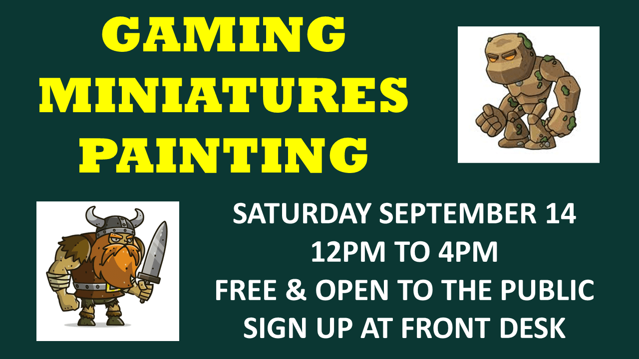 Gaming Miniatures Painting 9-19 Slideshow Slide