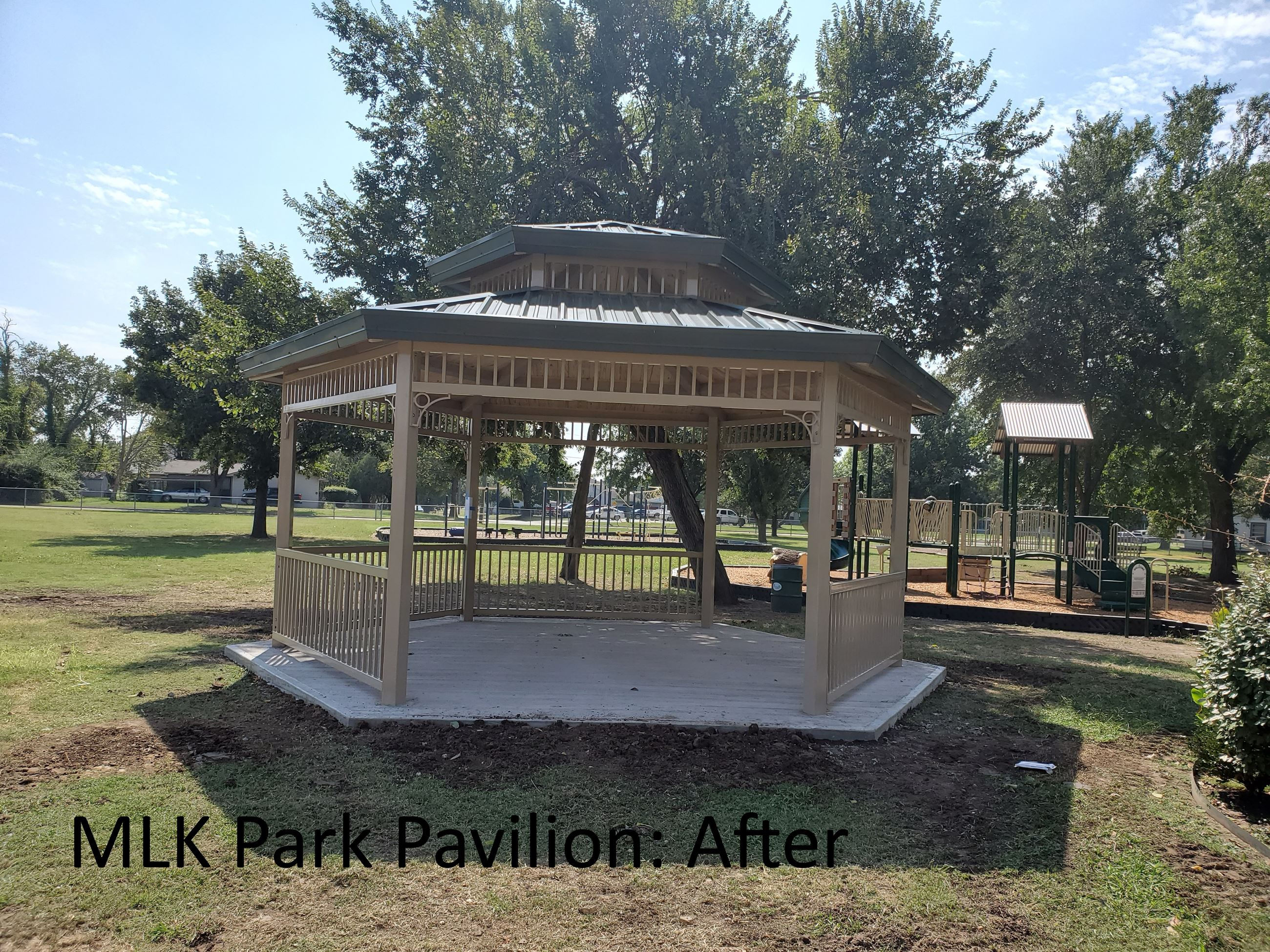 MLK Pavilion: After