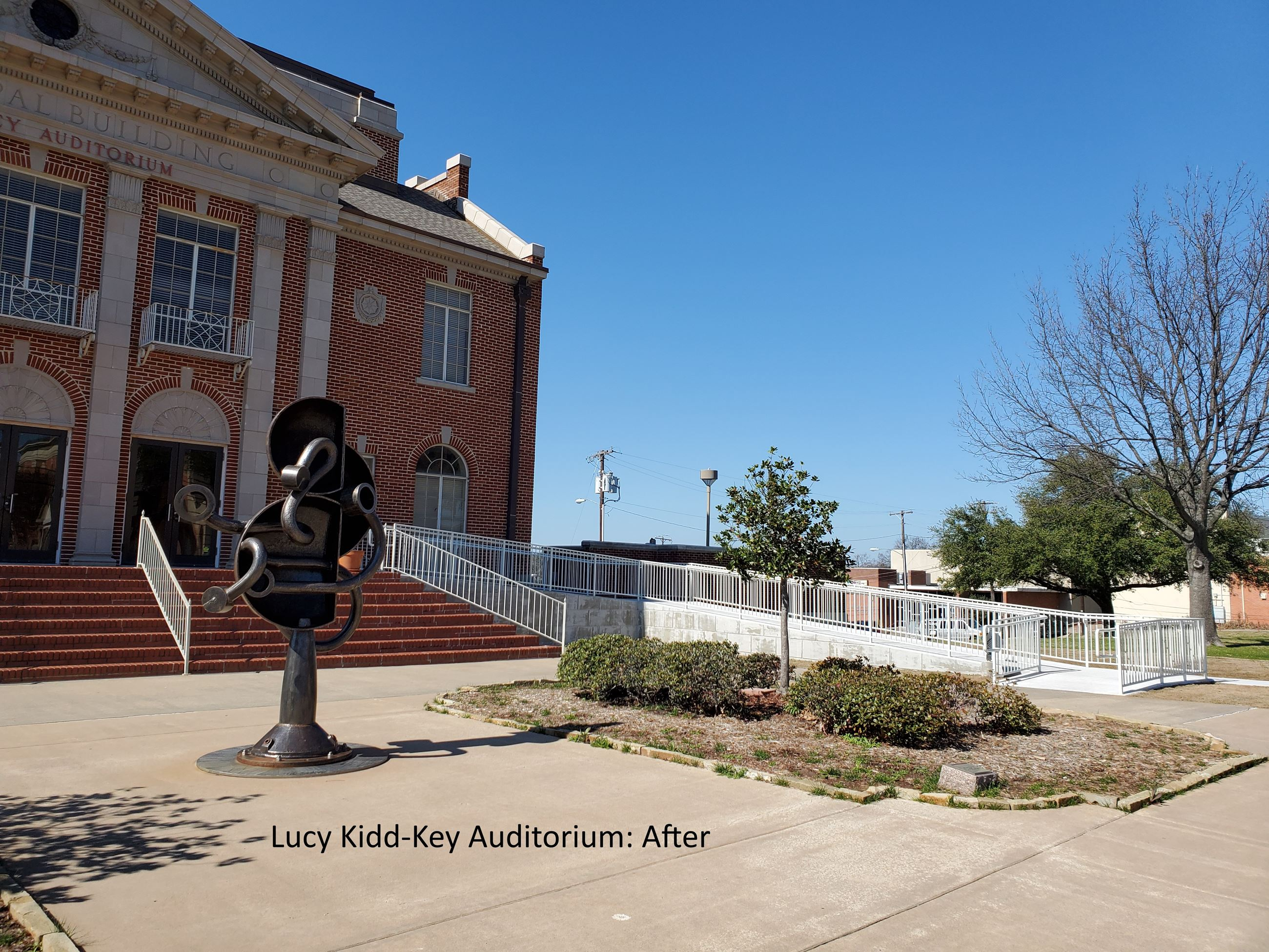 Kidd-Key Auditorium: After