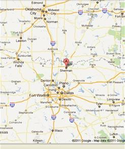 City Maps Sherman TX Official Website - Tx city map