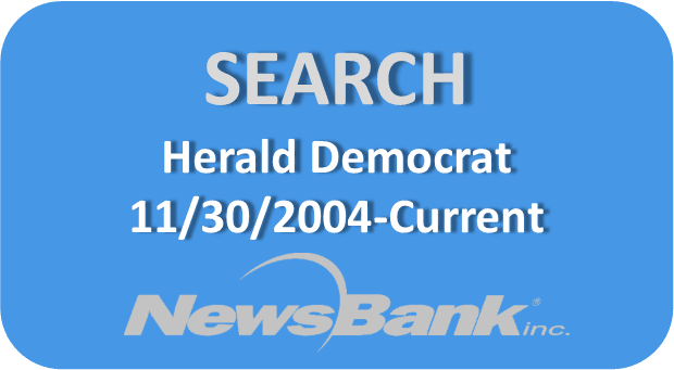 Search Herald Democrat button Opens in new window