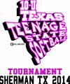 Texas Teenage State Softball Logo